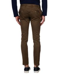 4 Four Messagerie - Brown Casual Pants for Men - Lyst