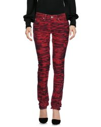 Étoile Isabel Marant | Red Casual Pants | Lyst