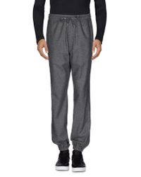 YMC - Gray Casual Pants for Men - Lyst
