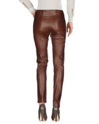 Taviani - Brown Casual Pants - Lyst