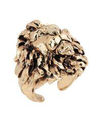 Roberto Cavalli - Metallic Ring for Men - Lyst