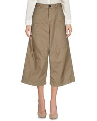 DSquared² | Natural 3/4-length Trousers | Lyst