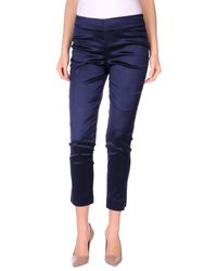 Pt0w | Blue Casual Trouser | Lyst