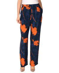 Maliparmi | Blue Casual Pants | Lyst