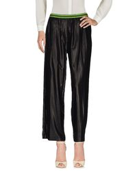 Mauro Grifoni   Black Casual Trouser   Lyst