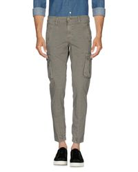 Squad² | Gray Casual Trouser for Men | Lyst