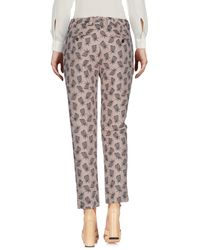 Mauro Grifoni - Multicolor Casual Pants - Lyst