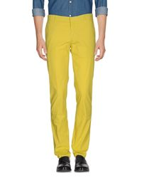 C P Company | Yellow Casual Pants for Men | Lyst