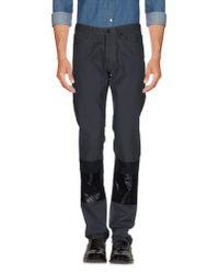 Lanvin - Gray Casual Pants for Men - Lyst
