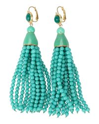 Kenneth Jay Lane - Green Earrings - Lyst