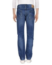Edwin - Blue Denim Trousers for Men - Lyst