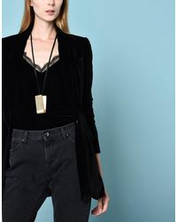 8 - Metallic Necklaces - Lyst