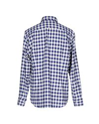 Salvatore Piccolo - Blue Shirt for Men - Lyst