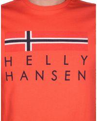 Helly Hansen - Pink T-shirt for Men - Lyst