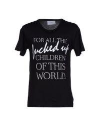 April77   Black T-shirt for Men   Lyst