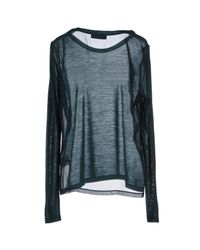 Tru Trussardi - Green T-shirt - Lyst
