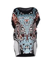 Just Cavalli | Black T-shirt | Lyst