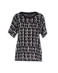 Le Mont St Michel | Black T-shirt | Lyst
