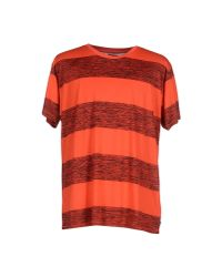 Cheap Monday - Red T-shirt for Men - Lyst