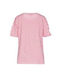 Le Mont St Michel - Pink T-shirt - Lyst