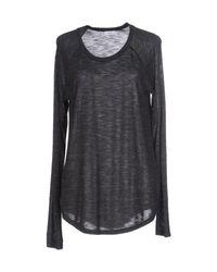Vince - Gray T-shirt - Lyst