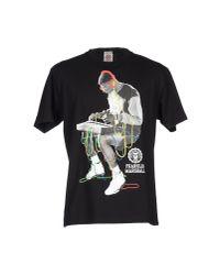 Franklin & Marshall | Black T-shirt for Men | Lyst