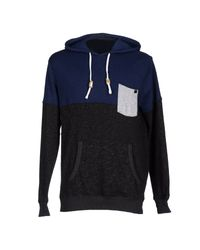 Hurley - Blue Sweatshirt for Men - Lyst