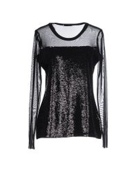 Liu Jo - Black T-shirt - Lyst