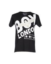 BOY London - Black T-shirt for Men - Lyst