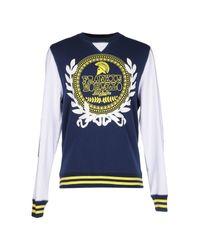 Frankie Morello | Blue Sweatshirt for Men | Lyst