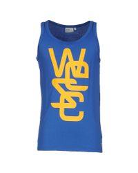 Wesc | Blue T-shirt for Men | Lyst