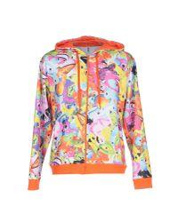 Moschino | Orange Sweatshirt | Lyst