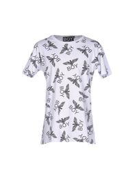 BOY London   White T-shirt for Men   Lyst