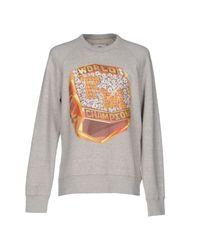 Franklin & Marshall | Gray Sweatshirt | Lyst