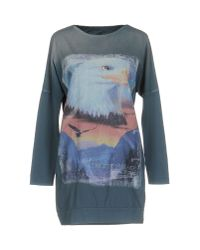 Athletic Vintage | Blue T-shirt | Lyst