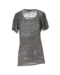 Athletic Vintage - Gray T-shirt - Lyst