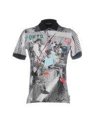 Dolce & Gabbana - White Polo Shirt for Men - Lyst