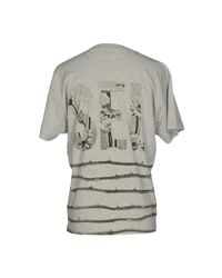 DIESEL - Gray T-shirt for Men - Lyst