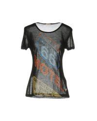 John Galliano   Black T-shirt   Lyst