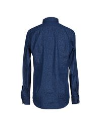 Hamptons - Blue Denim Shirt for Men - Lyst