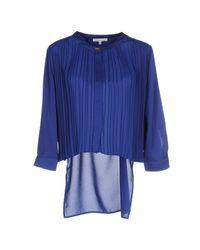 Patrizia Pepe   Blue Shirt   Lyst