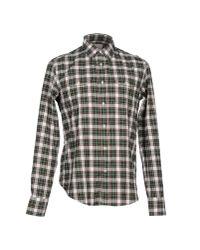 M. Grifoni Denim - Green Shirt for Men - Lyst