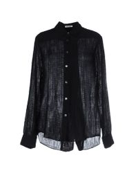 Acne Studios | Black Shirt | Lyst