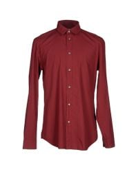 Maison Margiela - Brown Shirt for Men - Lyst