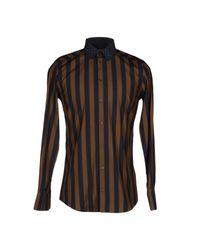 Dolce & Gabbana - Blue Shirt for Men - Lyst