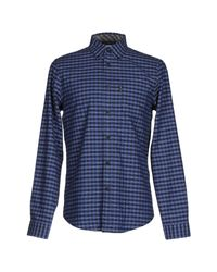 Ben Sherman | Blue Heritage House Check Long Sleeve Shirt for Men | Lyst