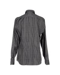 Class Roberto Cavalli - Black Shirt for Men - Lyst