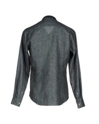 Giorgio Armani - Gray Shirt for Men - Lyst