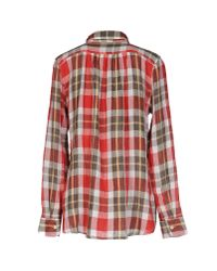 Denim & Supply Ralph Lauren - Red Shirt - Lyst