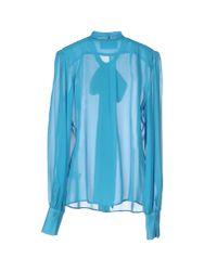 Marco Bologna - Blue Shirt - Lyst